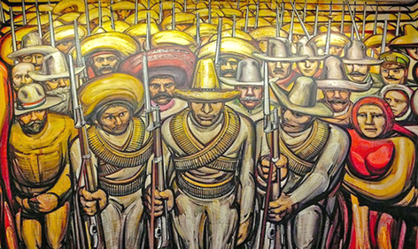 Cursos gusto por la historia for Arte mural mexicano