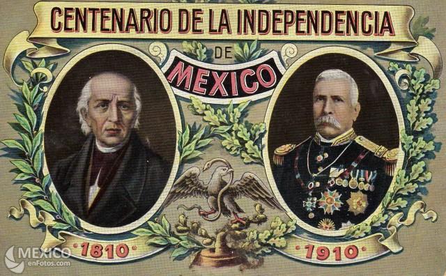 Menu Centenario Independencia Mexico Gusto Por La Historia