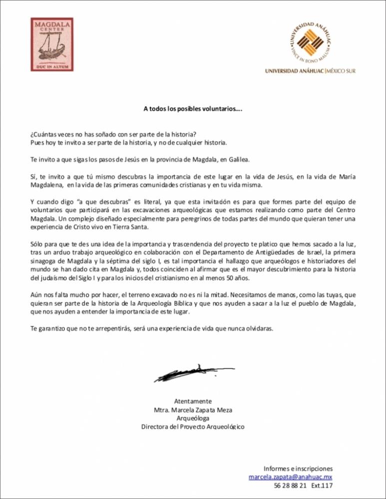 Proyecto arqueológico mexicano en Tierra Santa (3/3)