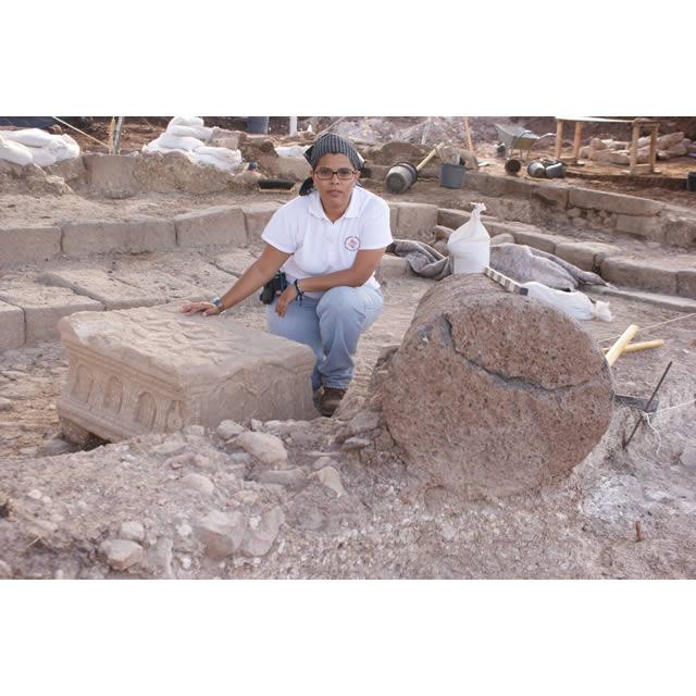 Proyecto arqueológico mexicano en Tierra Santa (2/3)