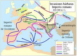 Las invasiones bárbaras en la historia de Europa (2/4)