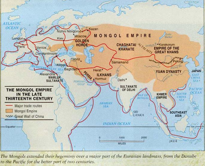 Visigodos Mongoles Gengis Khan Gusto Por La Historia