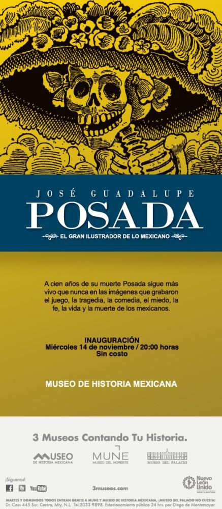 Homenaje a José Guadalupe Posada en el Museo de Historia Mexicana
