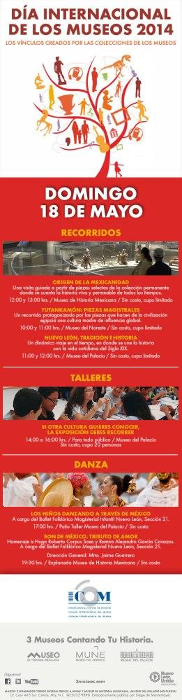 Día Internacional de los Museos en 3 Museos