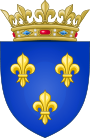 90px-Arms_of_the_Kingdom_of_France_(Moderne).svg