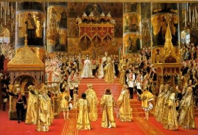 Coronation of Tsar Alexander III & Empress Mariia Feodorovna 1883